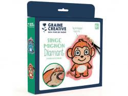 Acheter Kit diamond mosaic - Etiquette bagage Singe - 8,49€ en ligne sur La Petite Epicerie - Loisirs créatifs