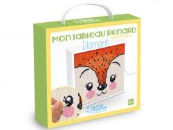 Acheter Tableau diamond mosaic - Renard 20 x 20 cm - 13,49€ en ligne sur La Petite Epicerie - Loisirs créatifs