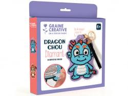 Acheter Kit diamond mosaic - Etiquette bagage - Dragon - 8,49€ en ligne sur La Petite Epicerie - Loisirs créatifs