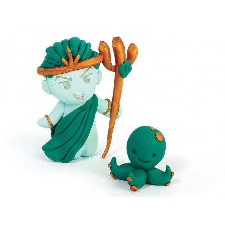 Acheter Kit Fimo mythologique - Poséidon - 10,99€ en ligne sur La Petite Epicerie - Loisirs créatifs