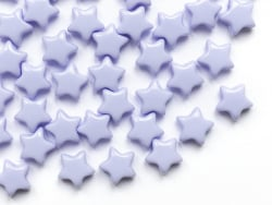 Acheter 50 perles en plastique - étoile 15 mm - bleu pastel - 4,49€ en ligne sur La Petite Epicerie - Loisirs créatifs