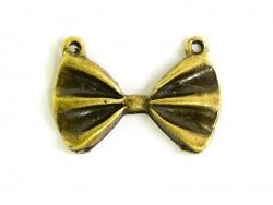 Acheter 1 pendentif noeud papillon - bronze - 0,49€ en ligne sur La Petite Epicerie - Loisirs créatifs