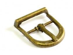 petite boucle ceinture et sac - couleur bronze  - 1