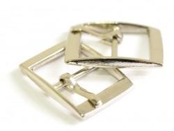 petite boucle ceinture et sac - couleur argenté  - 1