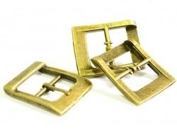 Belt buckle / Bag clasp - bronze-coloured