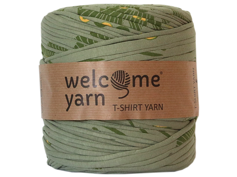 Acheter Grande bobine de fil trapilho - Vert avec motifs - 7,90€ en ligne sur La Petite Epicerie - Loisirs créatifs