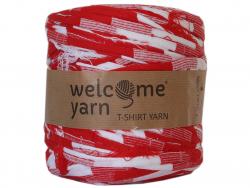 Acheter Grande bobine de fil trapilho - grosses rayures blanches et rouges - 7,90€ en ligne sur La Petite Epicerie - Loisirs...