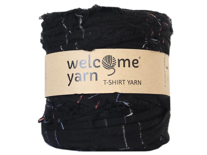 Acheter Grande bobine de fil trapilho - Noir à rayures multicolores - 7,90€ en ligne sur La Petite Epicerie - Loisirs créatifs