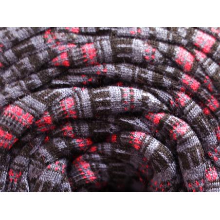 Acheter Grande bobine de fil trapilho - Rayures violettes, noires et roses - 7,90€ en ligne sur La Petite Epicerie - Loisirs...