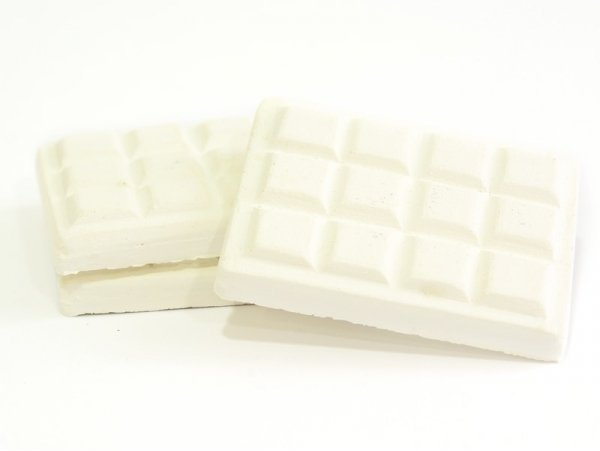 Support en plâtre à peindre - tablette de chocolat