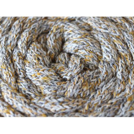 Acheter Grande bobine de fil trapilho - Gris et jaune, texture tricotin - 7,90€ en ligne sur La Petite Epicerie - Loisirs cr...