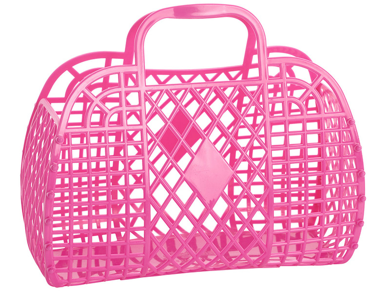 Acheter Panier rétro – L – Rose Framboise - 19,89€ en ligne sur La Petite Epicerie - Loisirs créatifs