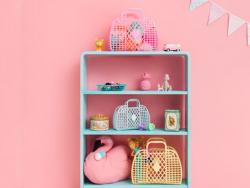 Acheter Panier rétro – L – Rose - 19,89€ en ligne sur La Petite Epicerie - Loisirs créatifs
