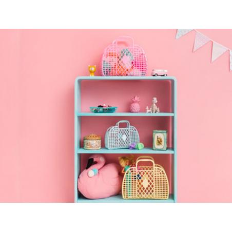 Acheter Panier rétro - S - Rose framboise - 12,89€ en ligne sur La Petite Epicerie - Loisirs créatifs