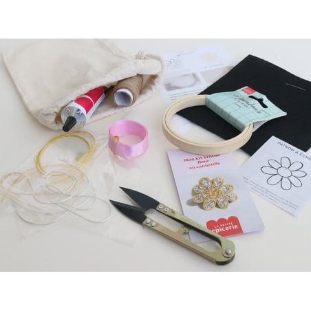 Acheter Kit cannetille - Fleur - 19,99€ en ligne sur La Petite Epicerie - Loisirs créatifs