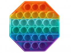 Acheter Fidget toy - Push poppers octogone - Arc-en-ciel - 5,89€ en ligne sur La Petite Epicerie - Loisirs créatifs