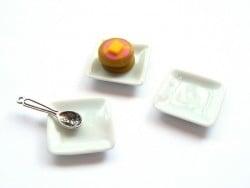 Square plate - 1.5 cm