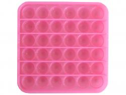 Acheter Fidget toy - Push poppers carré - Rose à paillettes - 5,89€ en ligne sur La Petite Epicerie - Loisirs créatifs