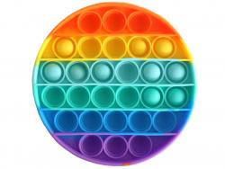Acheter Fidget toy - Push poppers rond - Arc-en-ciel - 5,89€ en ligne sur La Petite Epicerie - Loisirs créatifs