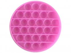Acheter Fidget toy - Push poppers rond - Violet à paillettes - 5,89€ en ligne sur La Petite Epicerie - Loisirs créatifs