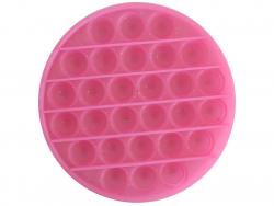 Acheter Fidget toy - Push poppers rond - Rose à paillettes - 5,89€ en ligne sur La Petite Epicerie - Loisirs créatifs