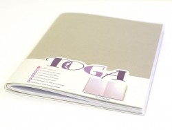 Carnet TOGA à décorer 80 pages - 17 x 24 cm Toga - 1