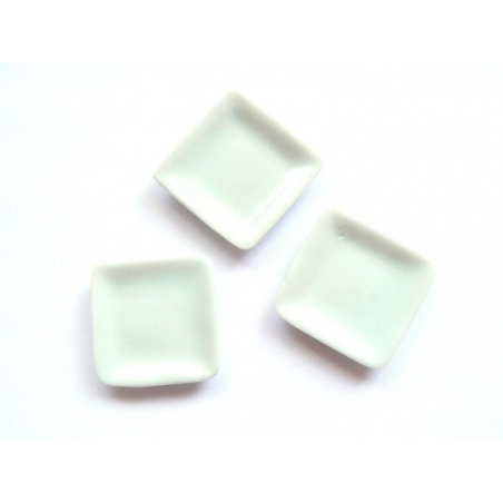 Assiette carrée - 1,5 cm  - 2
