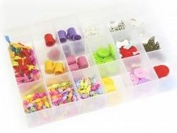Acheter Grande boîte de rangement à compartiments - 9,99€ en ligne sur La Petite Epicerie - 100% Loisirs créatifs