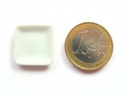 Assiette carrée - 1,5 cm  - 3