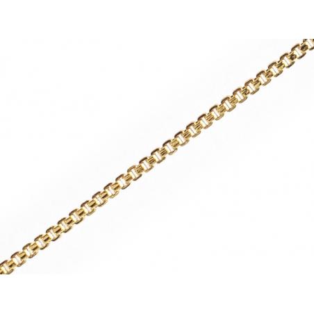 Acheter Chaine vénitienne 1,2 mm - laiton doré à l'or fin 18K - qualité premium - 3,99€ en ligne sur La Petite Epicerie - Lo...