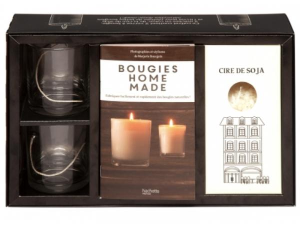 Acheter Coffret - livre Bougies home made - 24,99€ en ligne sur La Petite Epicerie - Loisirs créatifs