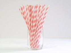 Acheter 25 Pailles en papier - sucre d'orge rose pêche - 4,50€ en ligne sur La Petite Epicerie - 100% Loisirs créatifs