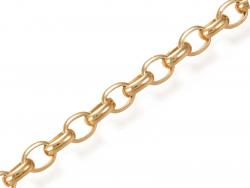 Acheter Chaîne forcat 8 x 6 mm - doré à l'or fin 18 K x 20 cm - 2,99€ en ligne sur La Petite Epicerie - Loisirs créatifs