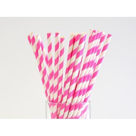 Acheter 25 Pailles en papier - sucre d'orge rose - 4,50€ en ligne sur La Petite Epicerie - 100% Loisirs créatifs