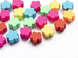 Acheter 20 perles fleurs en pâte polymère - multicolore - 9 mm - 1,99€ en ligne sur La Petite Epicerie - Loisirs créatifs