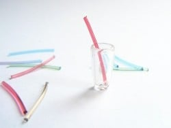 Pack of 10 Big Plastic Straws