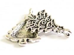 Acheter 1 breloque gros sapin - couleur argent - 0,59€ en ligne sur La Petite Epicerie - 100% Loisirs créatifs