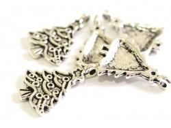 Acheter 1 breloque gros sapin - couleur argent - 0,59€ en ligne sur La Petite Epicerie - Loisirs créatifs