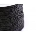 1 m de fil de jade / fil nylon tressé 1 mm - noir