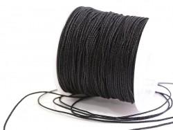 Acheter 1 m de fil de jade / fil nylon tressé 1 mm - noir - 0,49€ en ligne sur La Petite Epicerie - 100% Loisirs créatifs