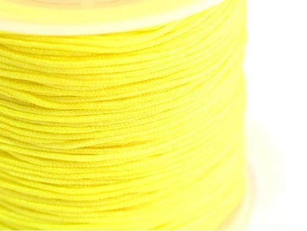 Acheter 1 m de fil de jade / fil nylon tressé 1 mm - jaune - 0,49€ en ligne sur La Petite Epicerie - Loisirs créatifs
