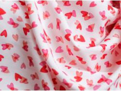 Acheter Tissu viscose Lise Tailor – I love you - 2,10€ en ligne sur La Petite Epicerie - Loisirs créatifs