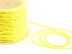 1 m geflochtene Nylonschnur, 1 mm - gelb