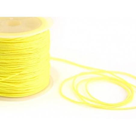 Acheter 1 m de fil de jade / fil nylon tressé 1 mm - jaune - 0,49€ en ligne sur La Petite Epicerie - 100% Loisirs créatifs