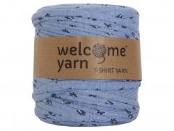 Acheter Grande bobine de fil trapilho - Bleu avec motif de feuilles - 7,90€ en ligne sur La Petite Epicerie - Loisirs créatifs