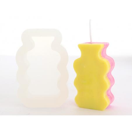 Acheter Moule en silicone - Bougie petit vase - 8,29€ en ligne sur La Petite Epicerie - Loisirs créatifs