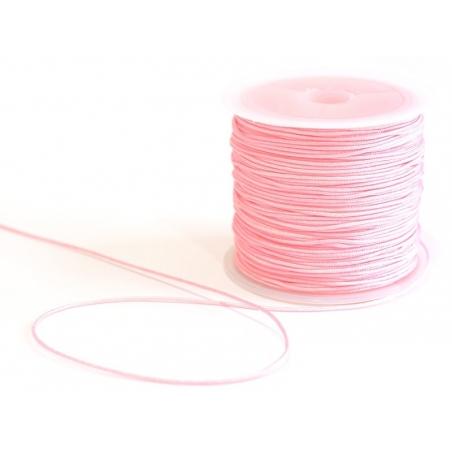 Acheter 1 m de fil de jade / fil nylon tressé 1 mm - rose pale - 0,49€ en ligne sur La Petite Epicerie - Loisirs créatifs