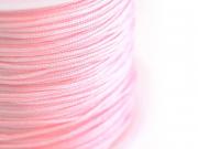 1 m de fil de jade / fil nylon tressé 1 mm - rose pale