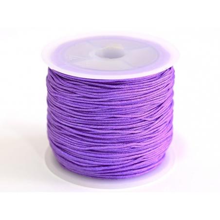 Acheter 1 m de fil de jade / fil nylon tressé 1 mm - mauve - 0,49€ en ligne sur La Petite Epicerie - Loisirs créatifs