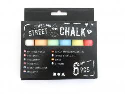 Acheter 6 craies pour le sol - Jumbo Street - 5,09€ en ligne sur La Petite Epicerie - Loisirs créatifs